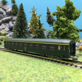 Voiture A9 UIC Ep IV SNCF-N 1/160-REE NW139