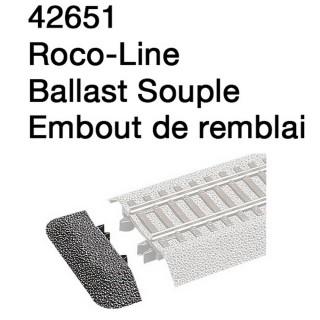 Embout de remblai-HO 1/87-ROCO 42651