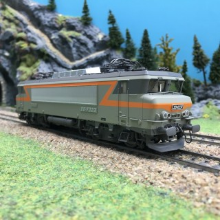 Locomotive BB7323 Villeneuve Ep IV SNCF-HO 1/87-LSMODELS 10452