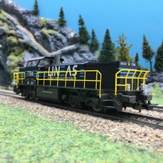 Locomotive G 1700 7784 Lineas Ep V SNCB 3R-HO 1/87-PIKO 97797