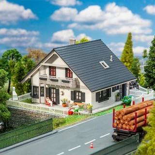 Maison individuelle / Pavillon avec terrasse-HO 1/87-FALLER 130640