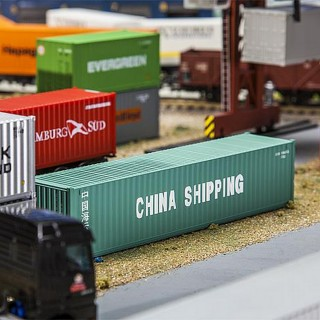 Container China Shipping 40'-HO 1/87-FALLER 180844
