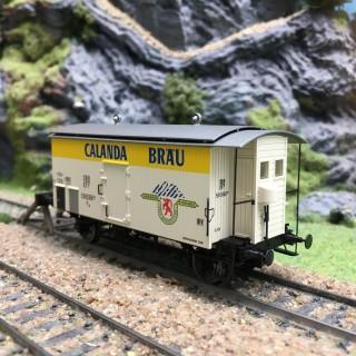 Wagon K2 Calanda Ep III SBB-HO 1/87-BRAWA 47868