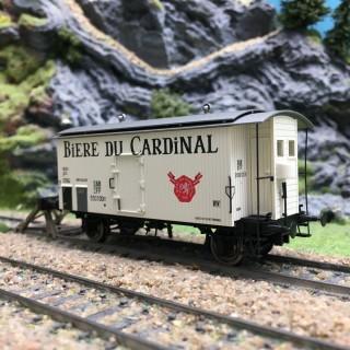 Wagon K2 Cardinal Ep III SBB-HO 1/87-BRAWA 47872