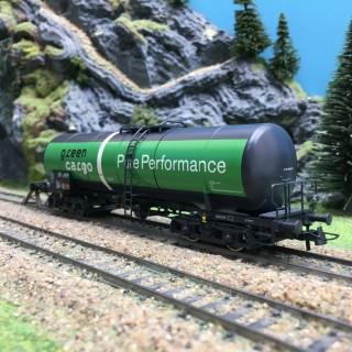 Wagon citerne Green Cargo Ep VI Privé-HO-1/87-ROCO 76698