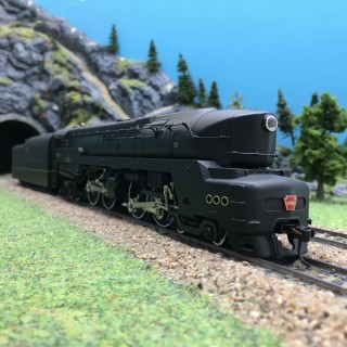 Locomotive PRR T1 Duplex 4-4-4-4 5501-HO 1/87-BROADWAY LIMITED 2470 DEP65-035