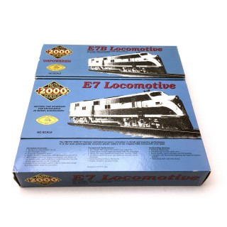 Locomotive E7 Florida East Coast + E7B-HO 1/87-PROTO 2000 21078 21080 DEP65-041