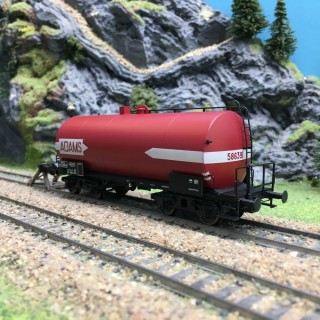 Wagon citerne SCywf ADAMS SNCF Ep III-HO 1/87-BRAWA 48949