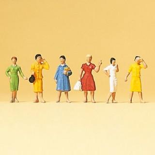 6 femmes-N 1/160-PREISER 79024