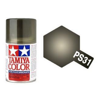 "Noir translucide ""Fumée"" Polycarbonate Spray de 100ml-TAMIYA PS31"