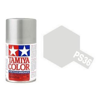 """Argent"" translucide Polycarbonate Spray de 100ml-TAMIYA PS36"