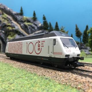 Locomotive Re 460 113-4 SBB/CFF/FFS Ep VI digital son 3R-HO 1/87-MARKLIN 39467