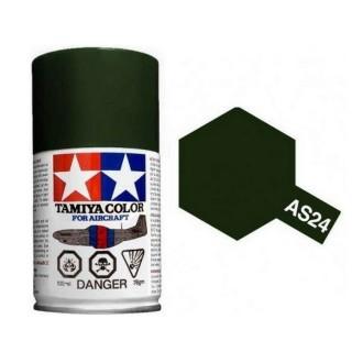 Vert foncé (Luftwaffe) Spray de 100ml-TAMIYA AS24