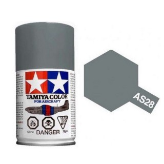 Gris moyen Spray de 100ml-TAMIYA AS28