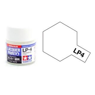 Blanc mat pot de 10ml-TAMIYA LP4