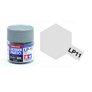 Argent brillant pot de 10ml-TAMIYA LP11