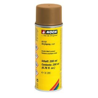 Peinture de décor en Spray 200 ml Ocre-NOCH 61172