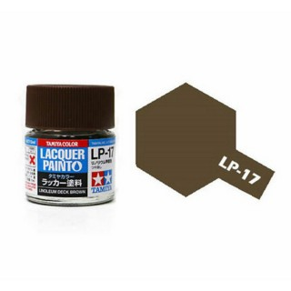Bois (lino) marron mat pot de 10ml-TAMIYA LP17