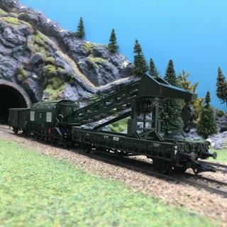 Grue à vapeur Ardelt 57t digitale sonore-HO-1/87-TRIX 23057