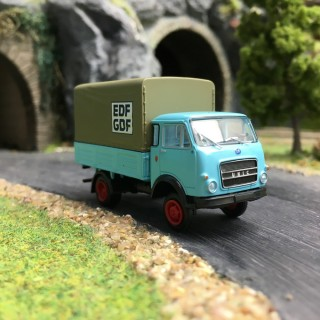"Camion OM Unic PP ""EDF-GDF""-HO 1/87-BREKINA 34629"