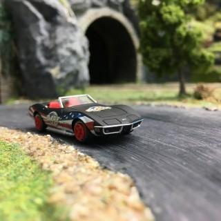 "Chevrolet Corvette C3 Cabriolet ""Dare""-HO 1/87-BREKINA 19983"