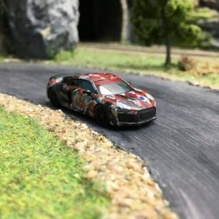 """Audi R8 V10 """"MattLook""""-HO 1/87-HERPA 102148"""