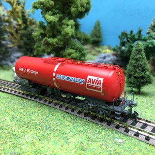 Wagon citerne Avia SBB/NS cargo Ep VI-N 1/160-ARNOLD HN6399