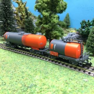 2 wagons citerne UETIKON SBB Ep V et VI-N 1/160-ARNOLD HN6398
