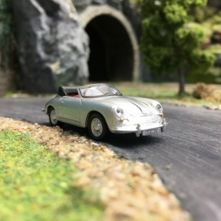 Porsche 356 cabriolet-HO 1/87-SCHUCO SC356C