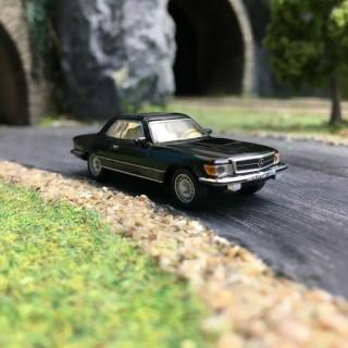 Mercedes 450 SLC Noire-HO 1/87-SCHUCO SCMB450