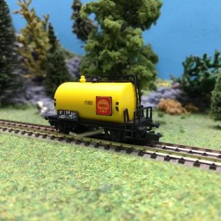 Wagon citerne SHELL nettoyeur-N 1/160-HERKAT 1404