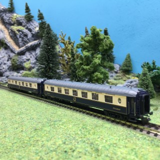 2 voitures Pullman WP WPc CIWL Ep IV-N 1/160-LSModels 79178