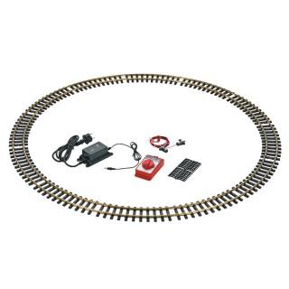 Coffret de rails avec transformateur variateur-G-1/22.5-LGB 19904