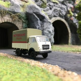 "Camion OM Unic PP ""Motobécane""-HO 1/87-BREKINA 34627"