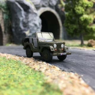 "Jeep Universal ""Gendarmerie"" Kaki-HO 1/87-BREKINA 58908"