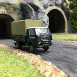 Camion OM Lupetto Carabinieri-HO 1/87-BREKINA 34622