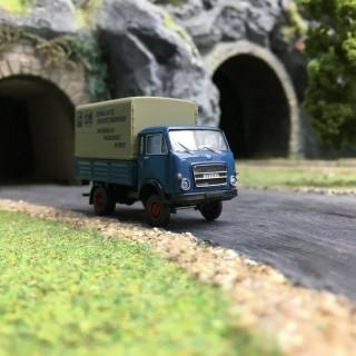 Camion OM Bussing-HO 1/87-BREKINA 34623