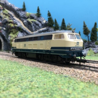 Locomotive BR 218 452-1 DB-HO 1/87-FLEISCHMANN 4933 DEP103-350