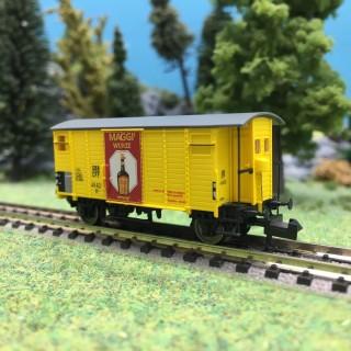 "Wagon couvert K2 ""Maggi"" SBB Ep III-N 1/160-BRAWA 67859"