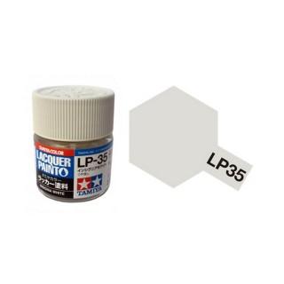 Blanc US Navy mat pot de 10ml-TAMIYA LP35