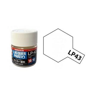 Blanc Nacré brillant pot de 10ml-TAMIYA LP43