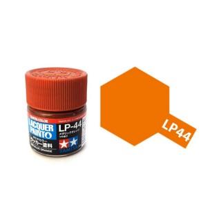 Orange métallisé brillant pot de 10ml-TAMIYA LP44