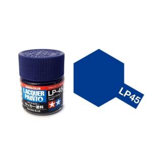 Bleu Racing brillant pot de 10ml-TAMIYA LP45