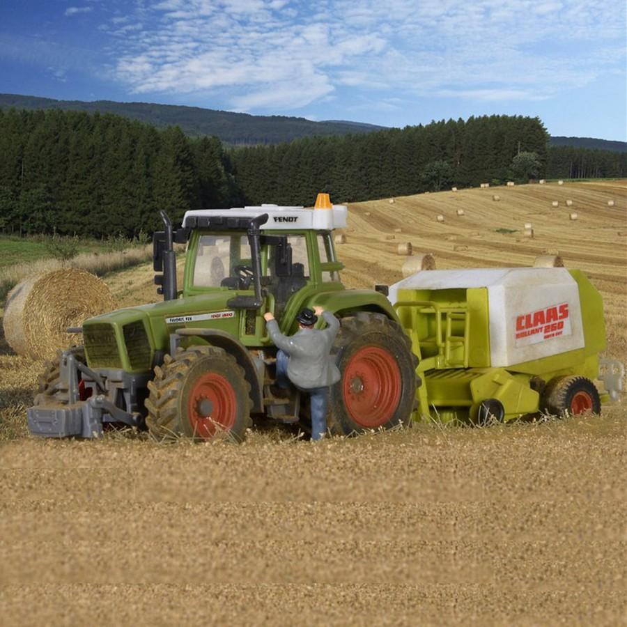 FENDT tracteur avec inverseur d'herbe-HO-1/87-KIBRI 12233