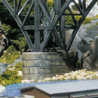 Piliers de pont empilables (x18)-HO-1/87-FALLER 120538