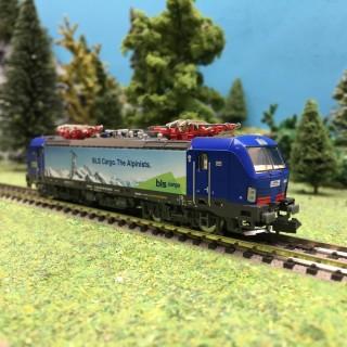 Locomotive Vectron Hupac BLS Cargo Ep VI-N 1/160-HOBBYTRAIN H2998