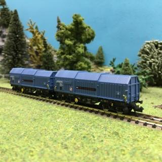 2 wagons téléscopique Raillogix Ep V-N 1/160-FLEISCHMANN 837926