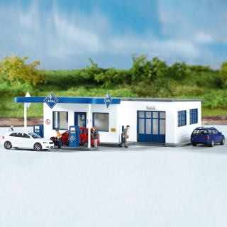Station service / Garage ARAL-HO 1/87-PIKO 61827