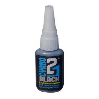 Colle 21 BLACK cyanoacrylate 21g pour maquette et figurine-COLLE21