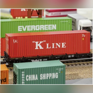 Container K Line 40'-HO 1/87-FALLER 180848